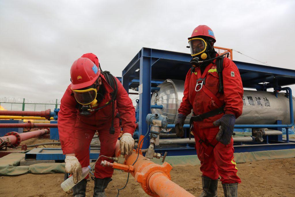 重磅!中国石化在顺北油气田再获日产千吨油气井!