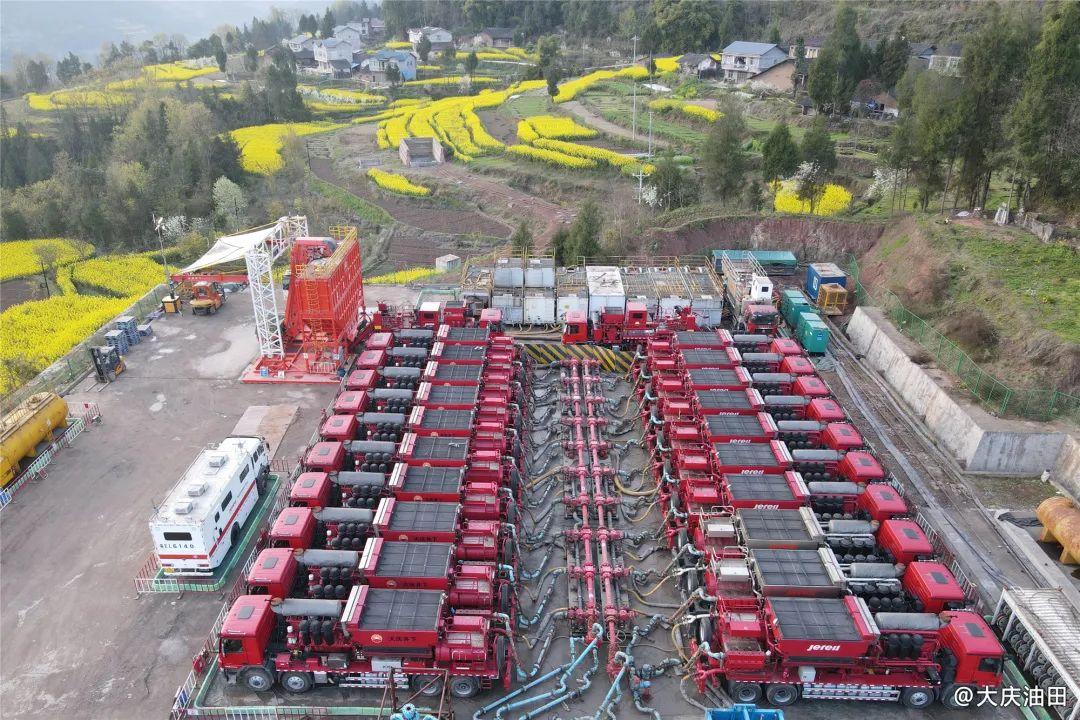 中石油页岩油勘探重大突破!大庆油田在川渝地区打出百吨井!