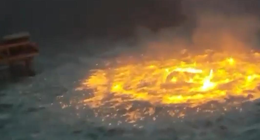 突发!墨西哥湾海上油气管道起火!