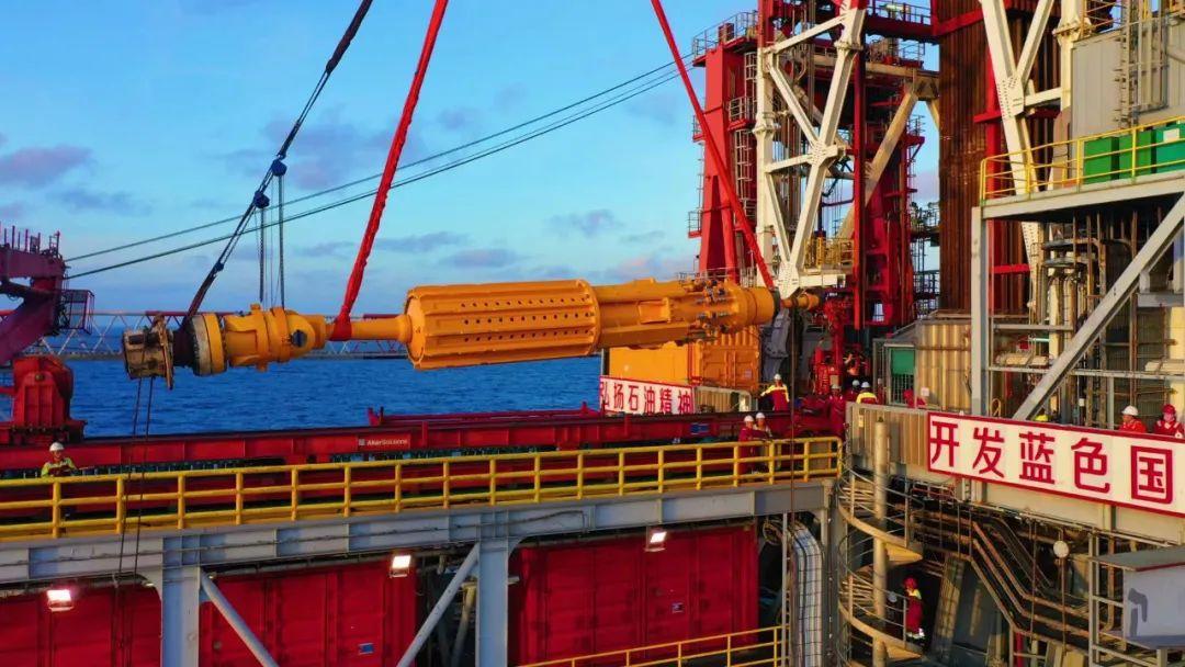 重磅!中海油重大技术突破!全球首套深水钻井防台风核心装备海试成功!